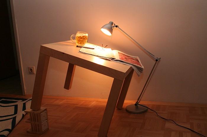 Making of: Zeitung, Brille ... und ein paar Promille
