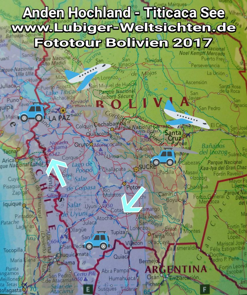 """Making offs"" Tour Südamerika 2017"