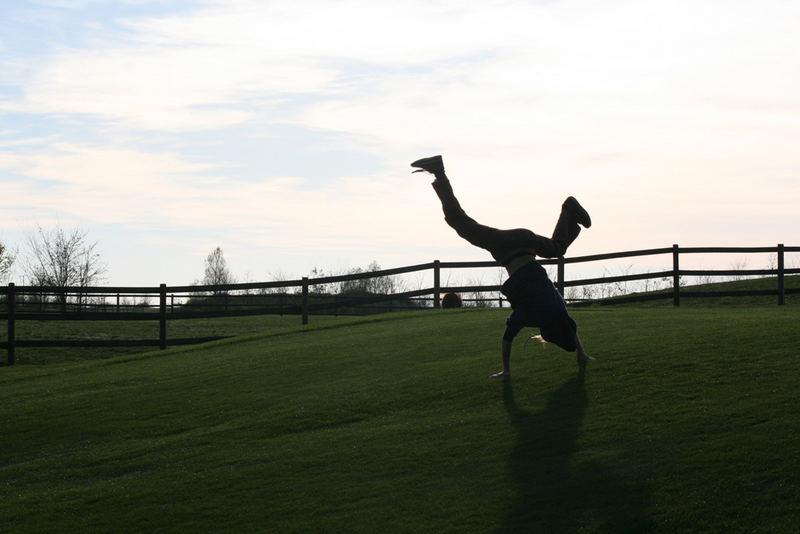 Making Qutsch On The Golfplatz
