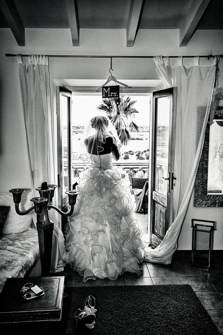 Making the bride - Hochzeit auf Mallorca - Prewedding -2