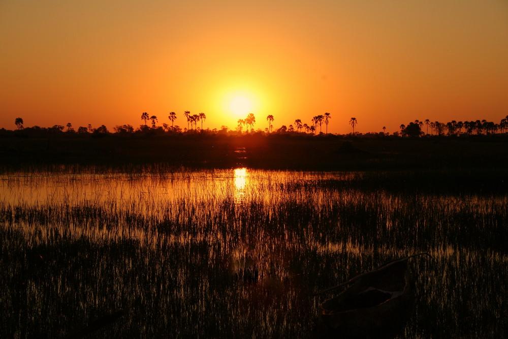 Makoro sunset