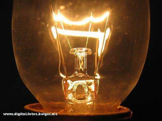 Makro Glühbirne