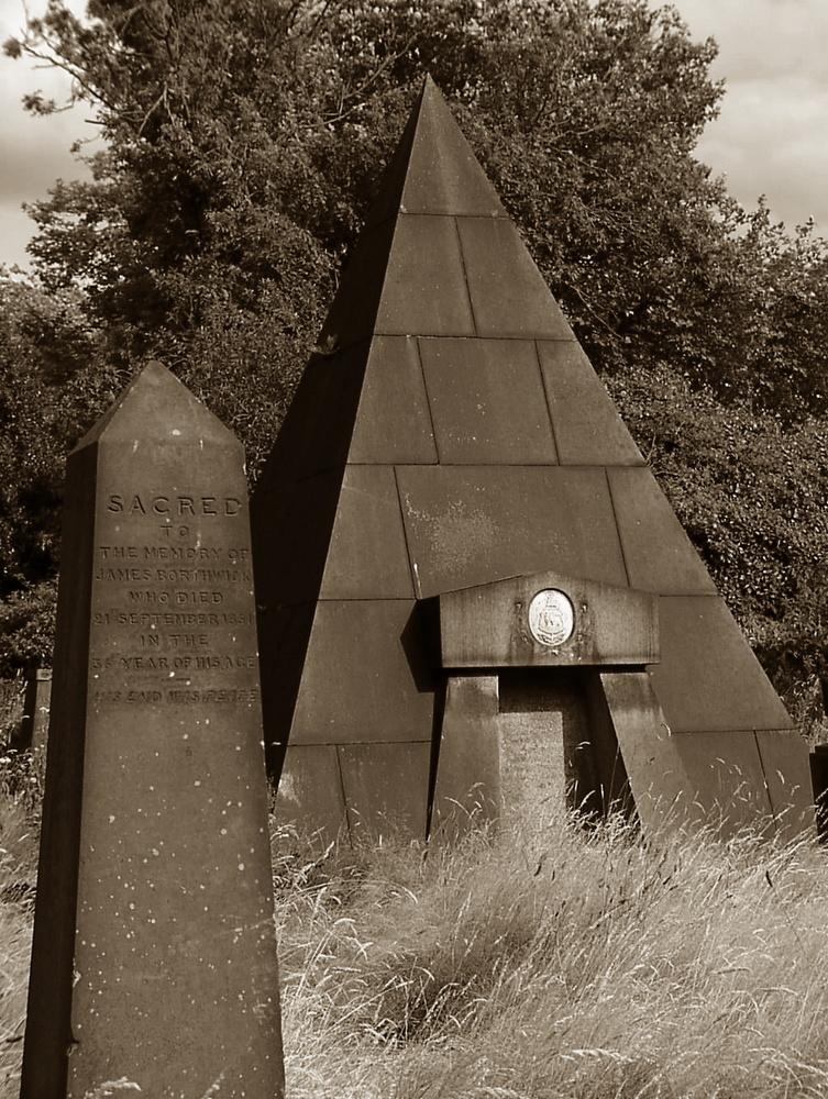 Mal ein Interessanter Friedhof.