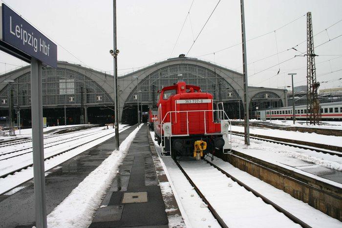 mal nicht der Einkaufstempel- Leipzig Hbf