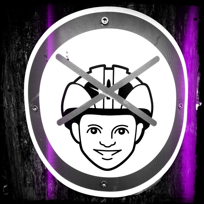 Mal ohne Helm