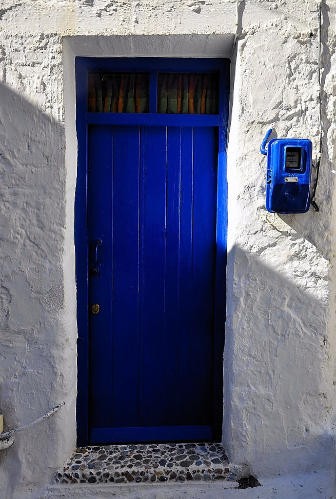 mal was anderes ,, Tür in Blau ;-))