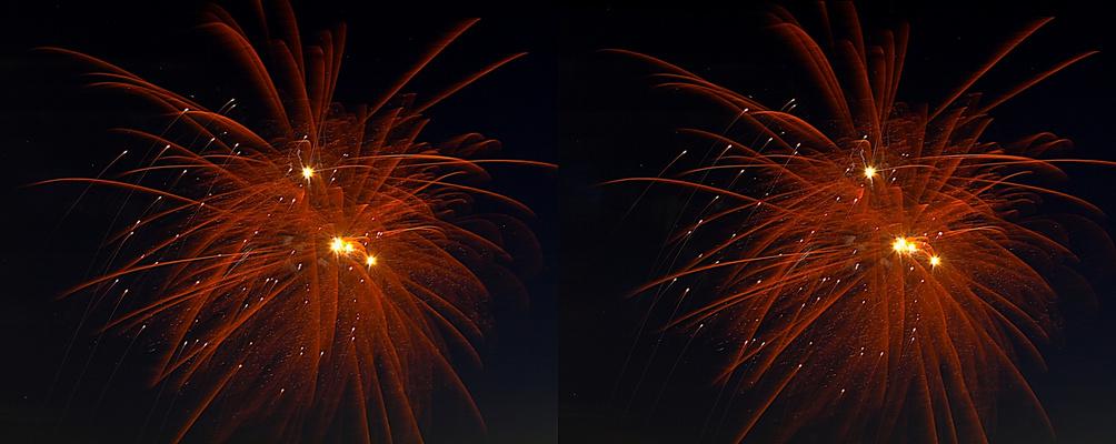 mal wieder ein Feuerwerk