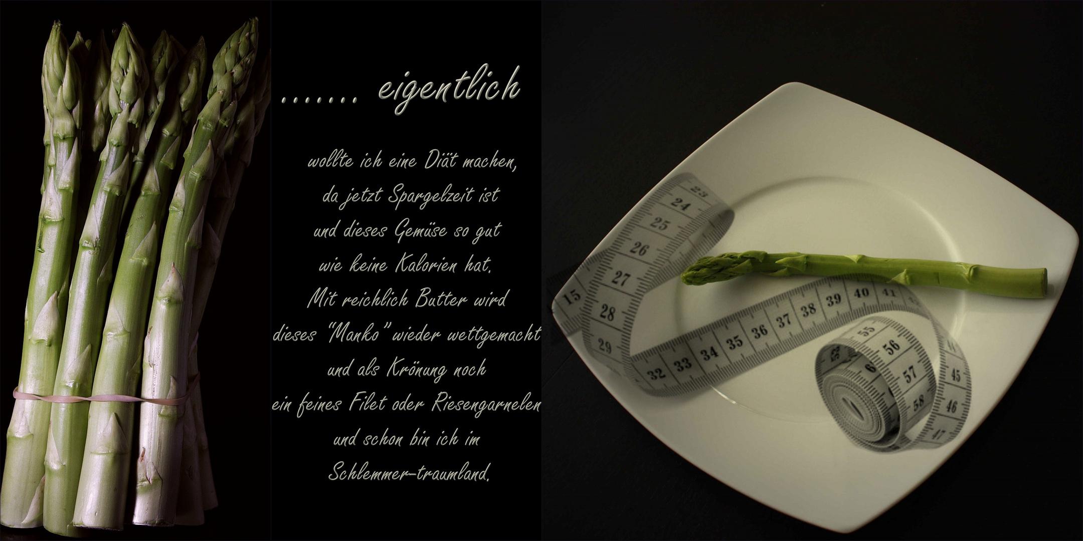 ............ mal wieder eine Diät