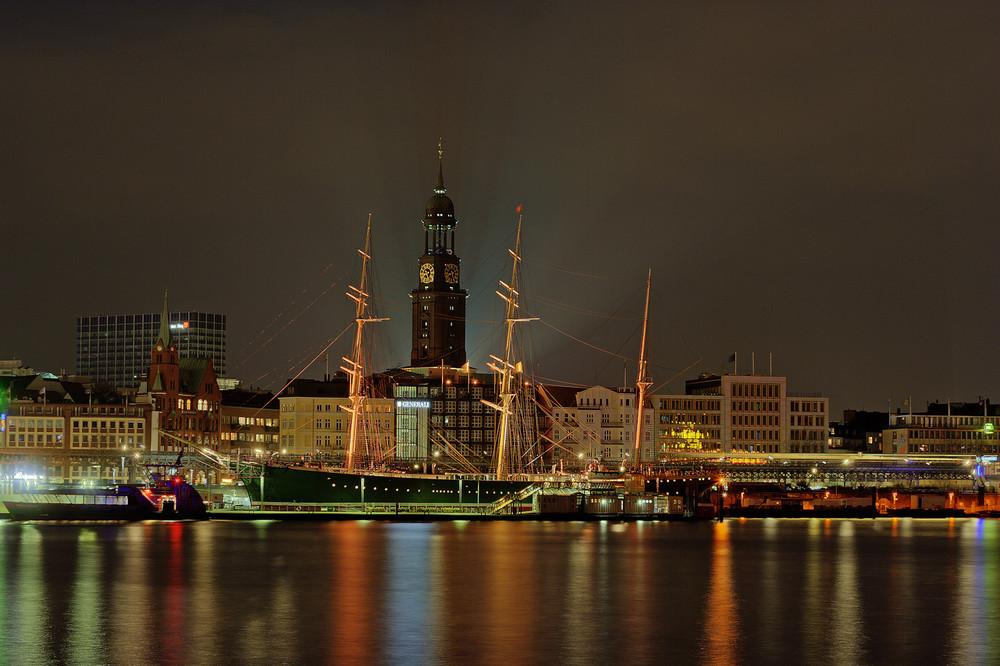 Mal wieder im Hamburger Hafen