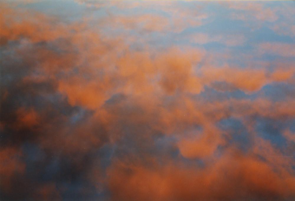 Malaga - cielo al tramonto durante la navigazione