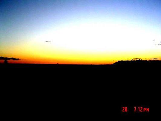 Malaga Sonnenuntergang