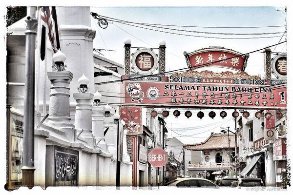 Malaysia- Melaka chinatown