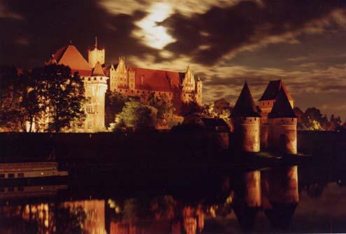 Malbork in Polen