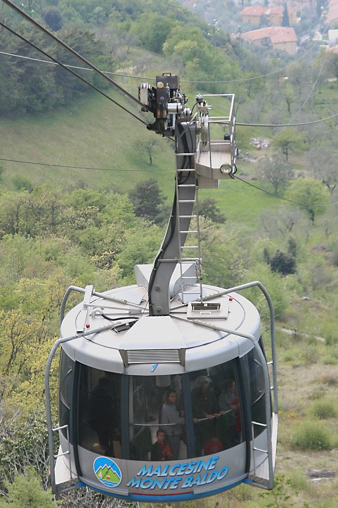 Malcesine - Monte Baldo erste Sektion
