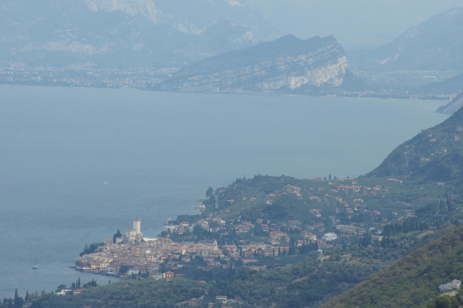Malcesine und Monte Brione