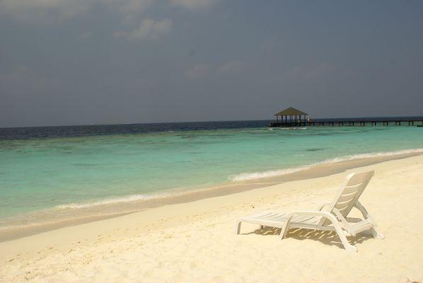 MALDIVES - Avoir envi de se poser deux minutes...