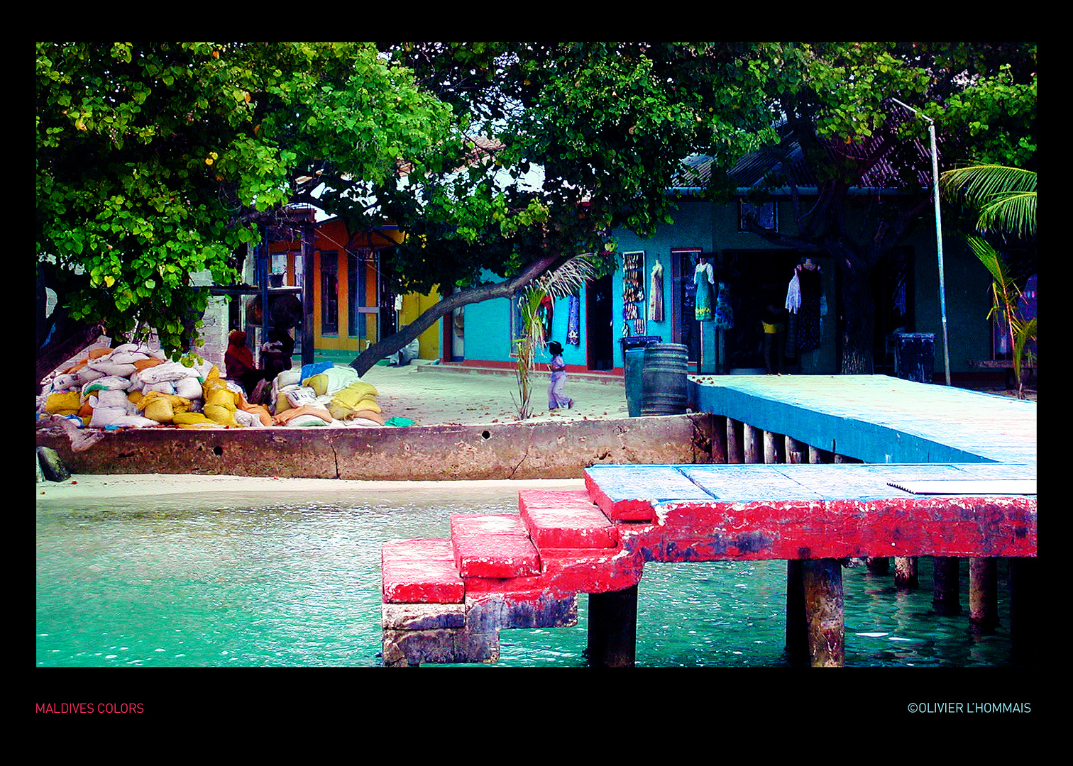 Maldives Colors