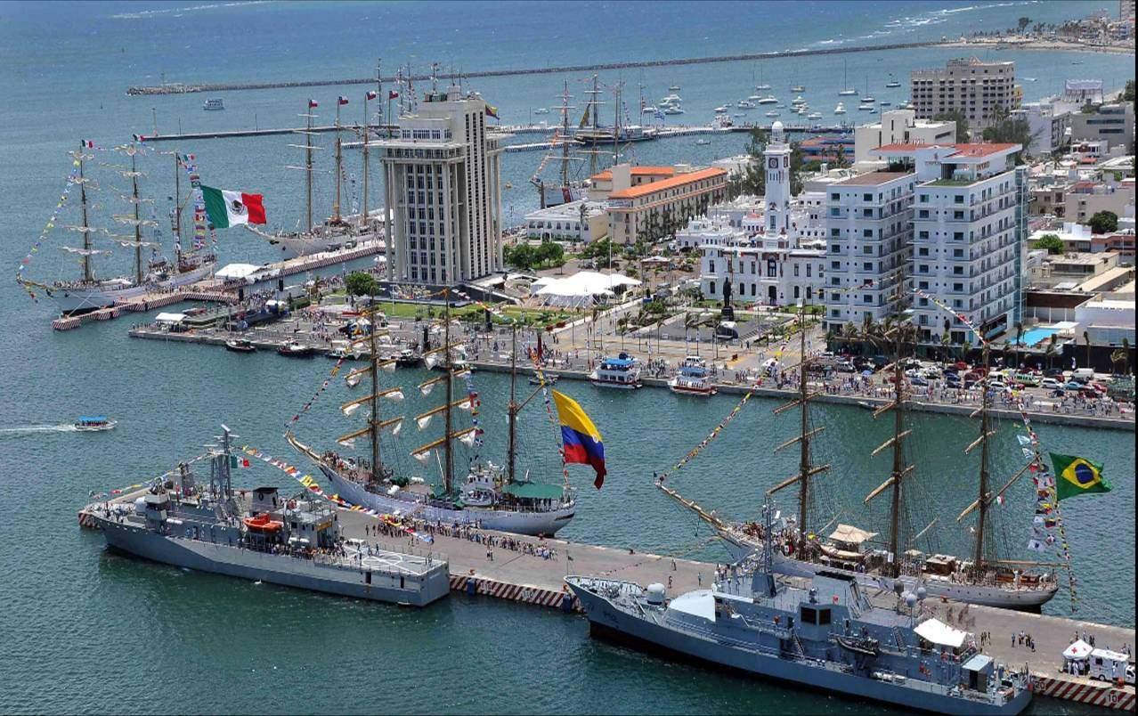 Malecon del Puerto de Veracruz, Mexico
