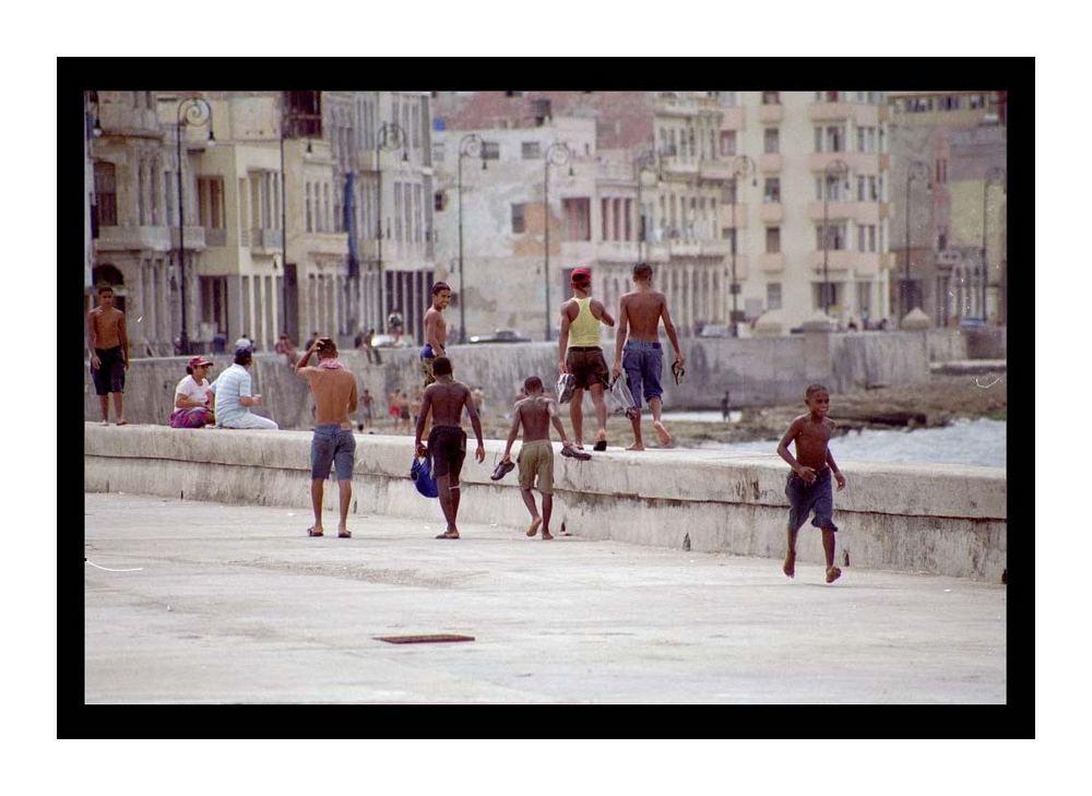 Malecon Havana - October 2003