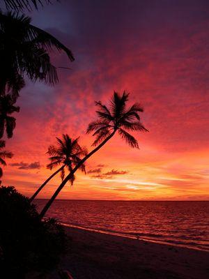 Malediven-Filitheyo-Sunset