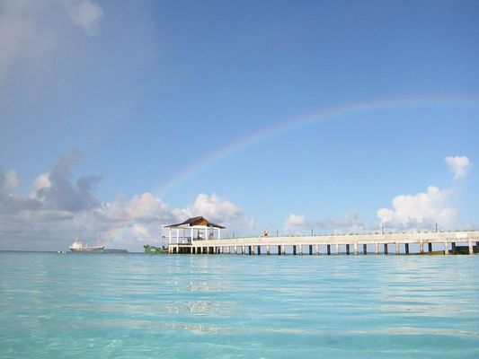 Malediven - Regenbogen
