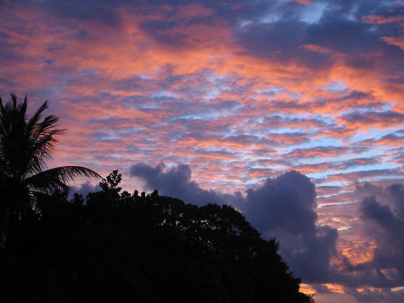 Malediven - Sonnenuntergang