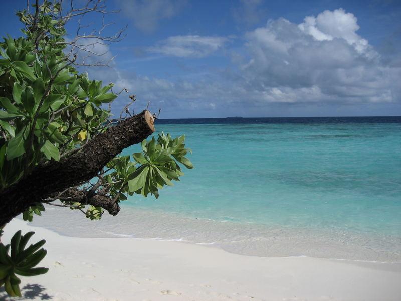Malediven Strand Dhiggiri Island Resort
