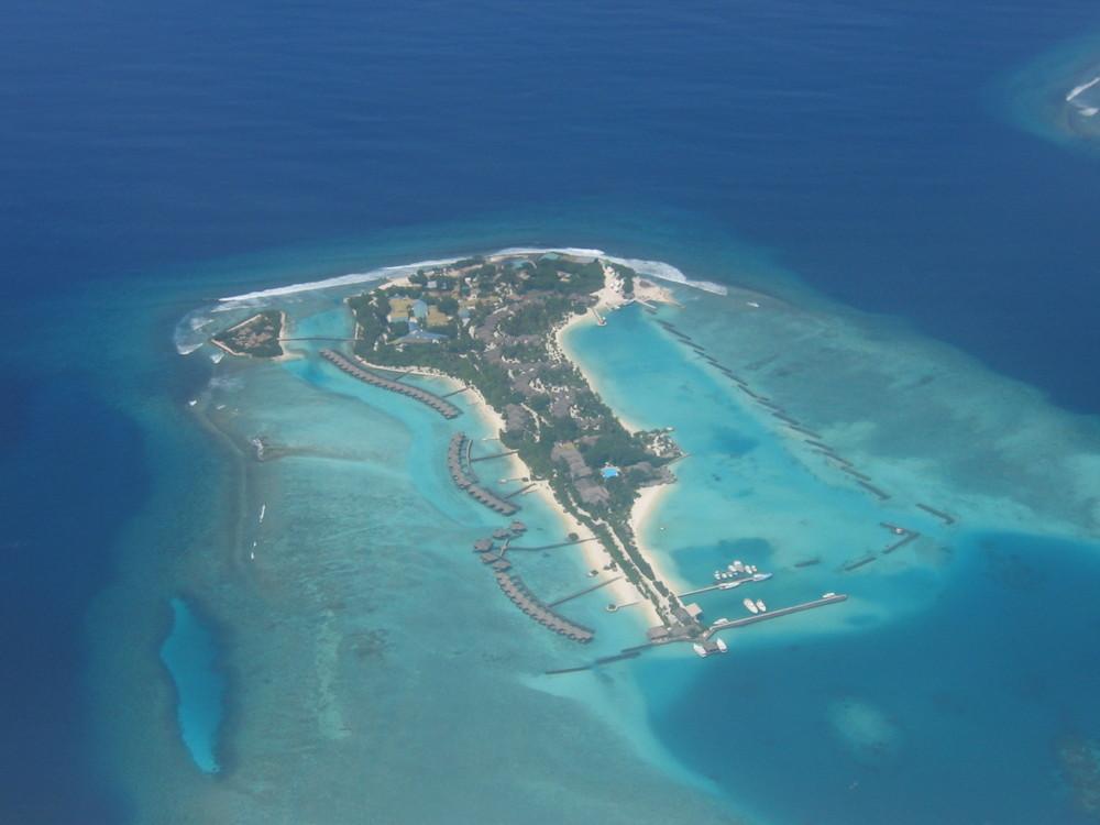 Malediven von oben