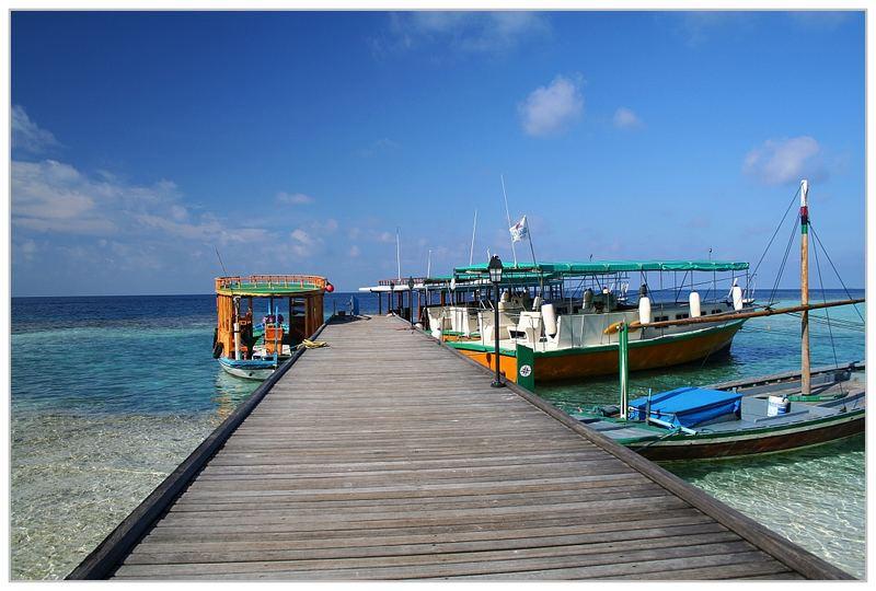 Maledivischer Parkplatz