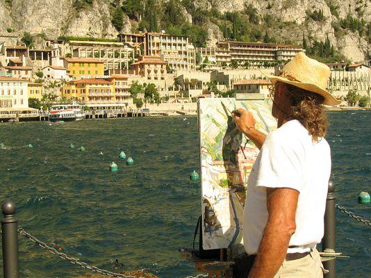 Maler am Gardasee