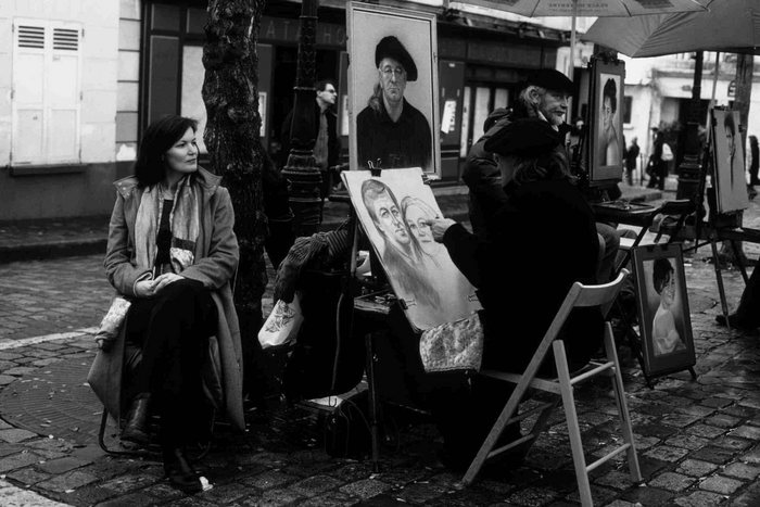 Maler am Place de Tertre