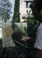 Maler in Granada