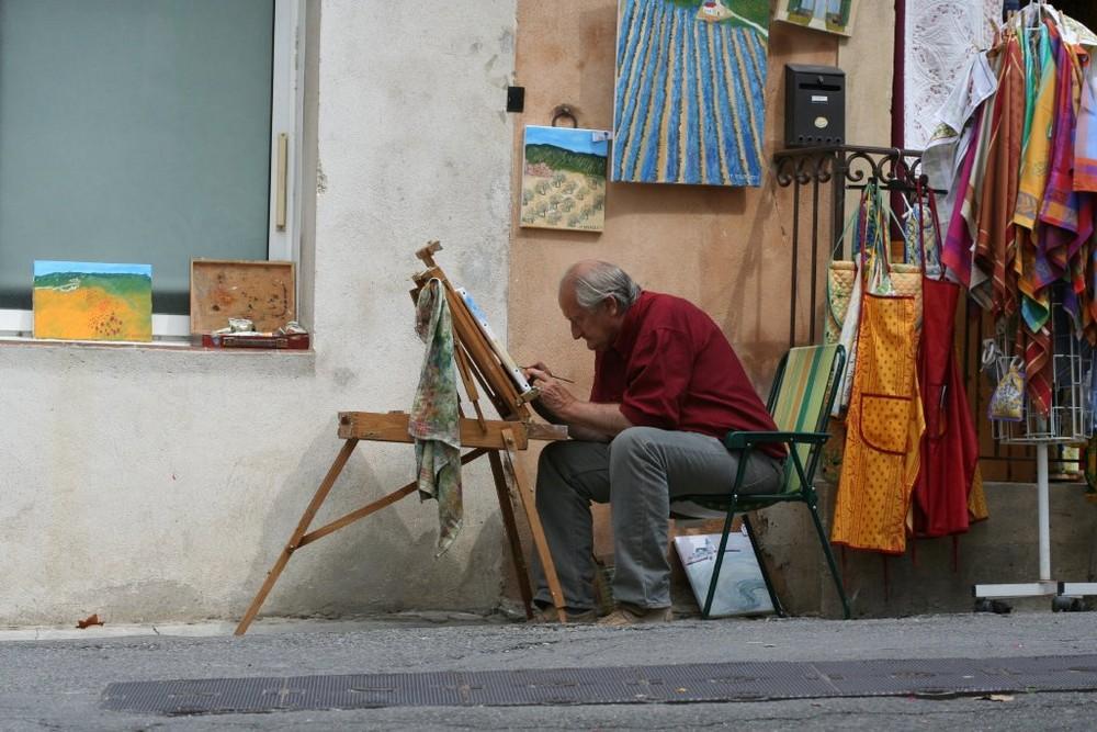 Maler in Menerbes