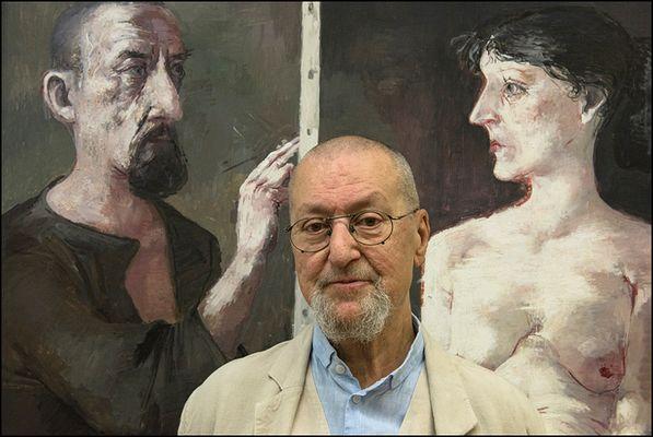 """Maler mit """"Maler und Modell"""""""