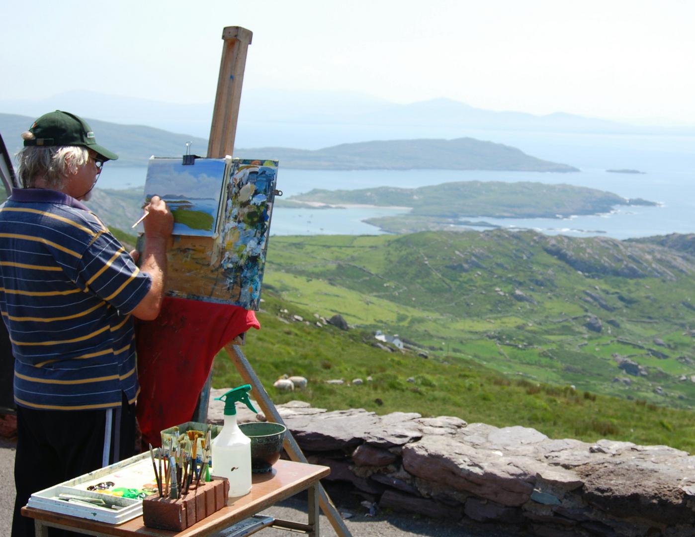 Maler und Fotografen sind von solch einem Motiv begeistert!