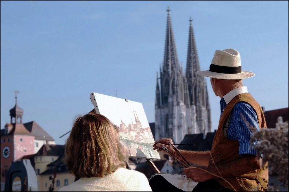 Malerisch schönes Regensburg