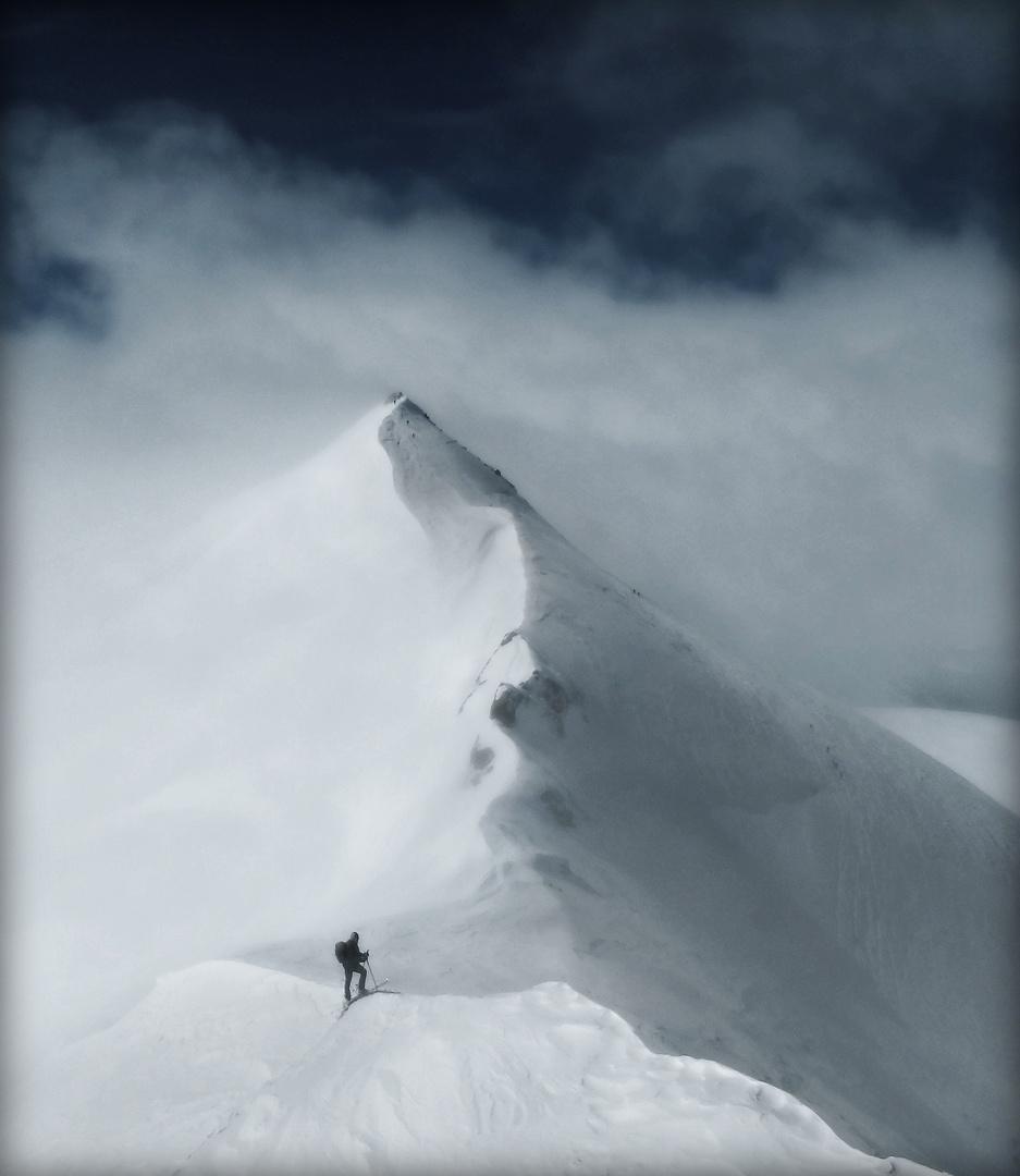 malerischer Ausblick auf den Cevedale (3769m)