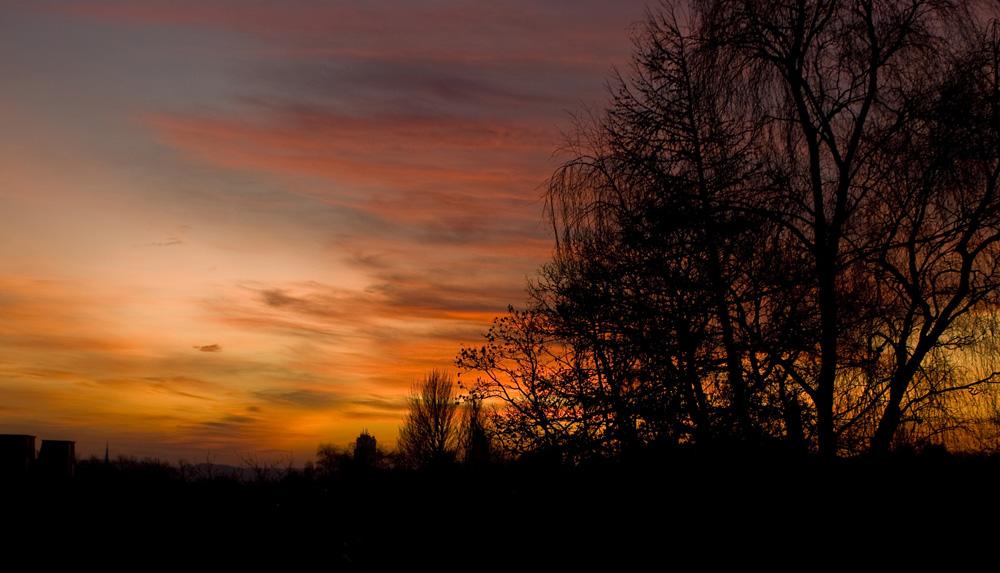 Malerischer Himmel