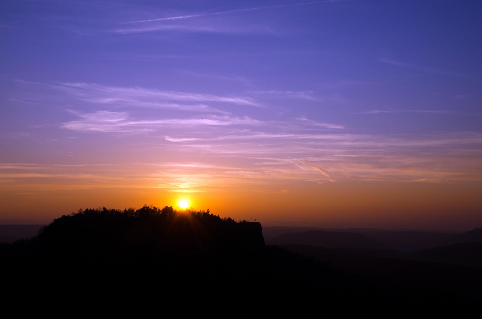 Malerweg Sunset