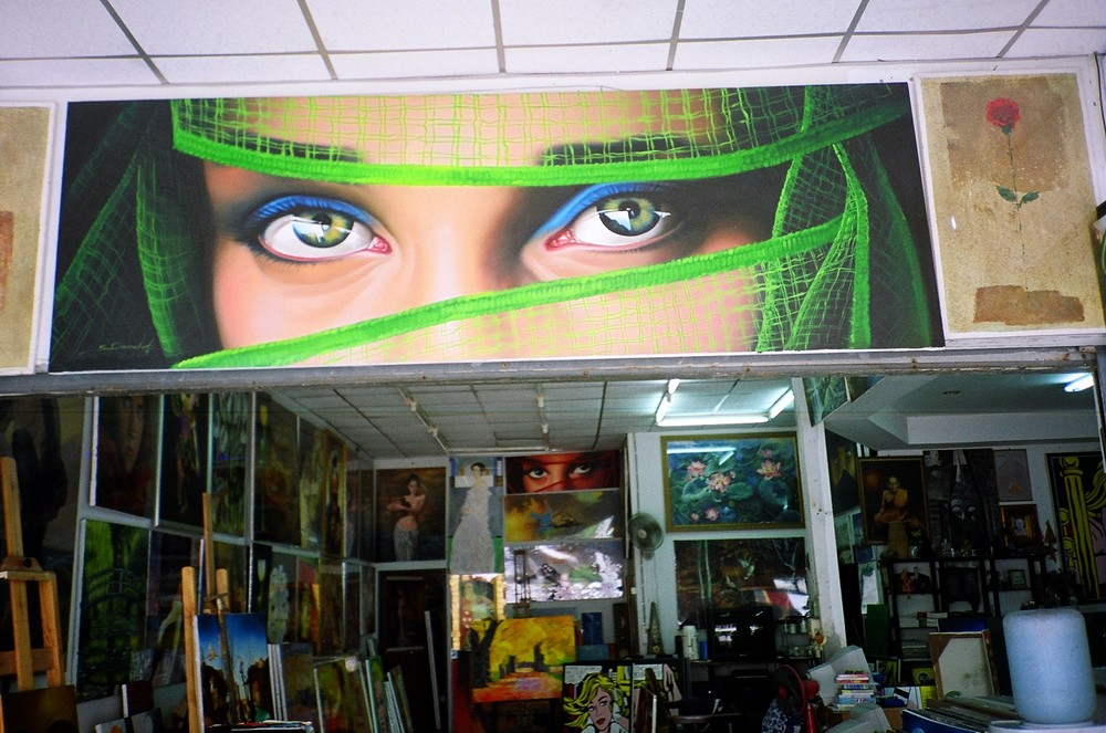 Malerwerkstatt, Phuket
