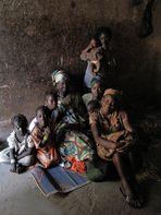 Mali feb 2011 Famiglia a Djicoroni