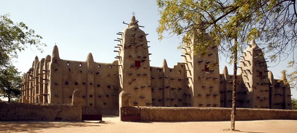 Mali, San Lehmbau Moschee 1