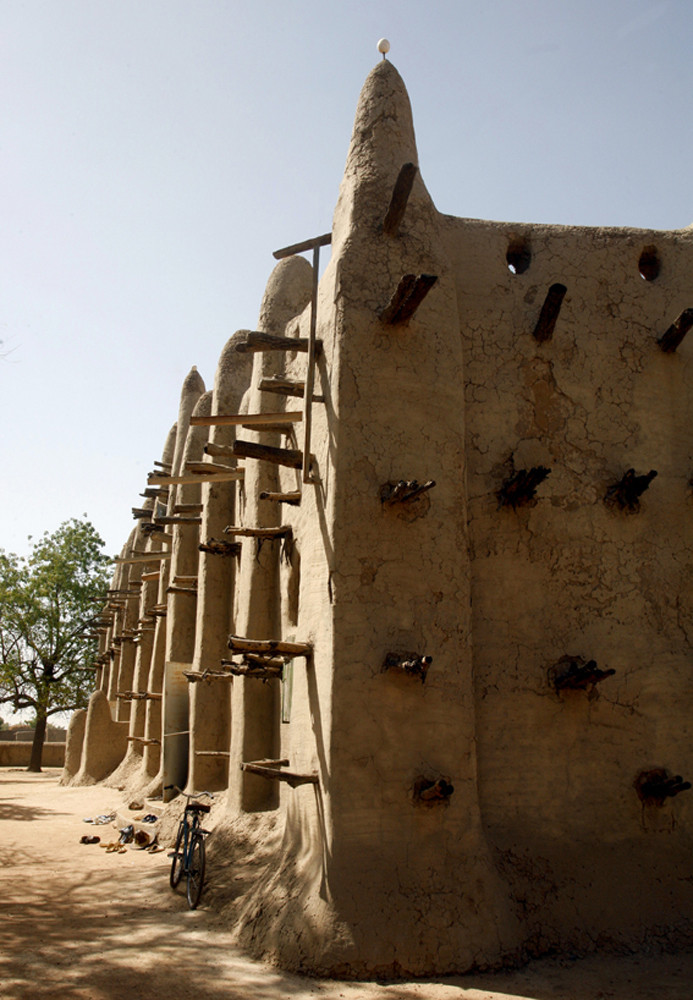 Mali, San Lehmbau Moschee