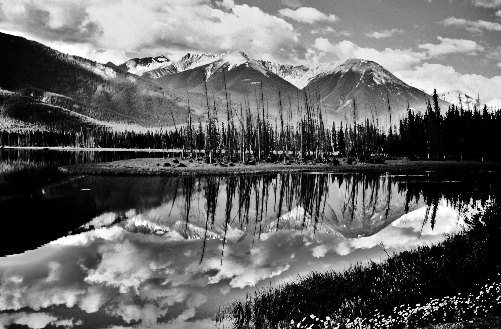 Maligne Lake , West Kanada , Jasper National Park