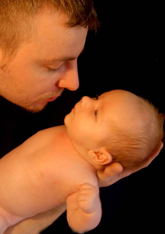 Malique & sein Papa