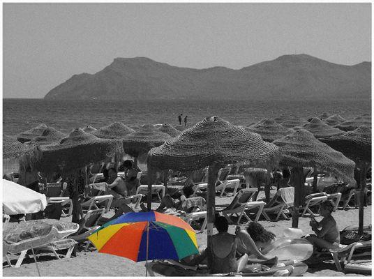 Mallorca 2003 - Strand von Ca'n Picafort