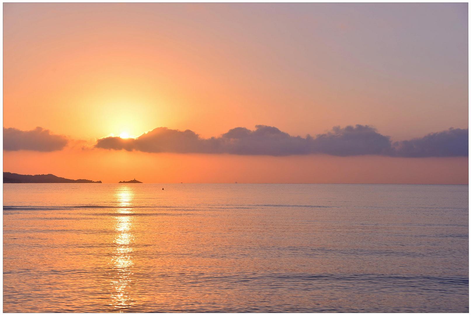 Mallorca 2012, Amanecer I (am Morgen I)