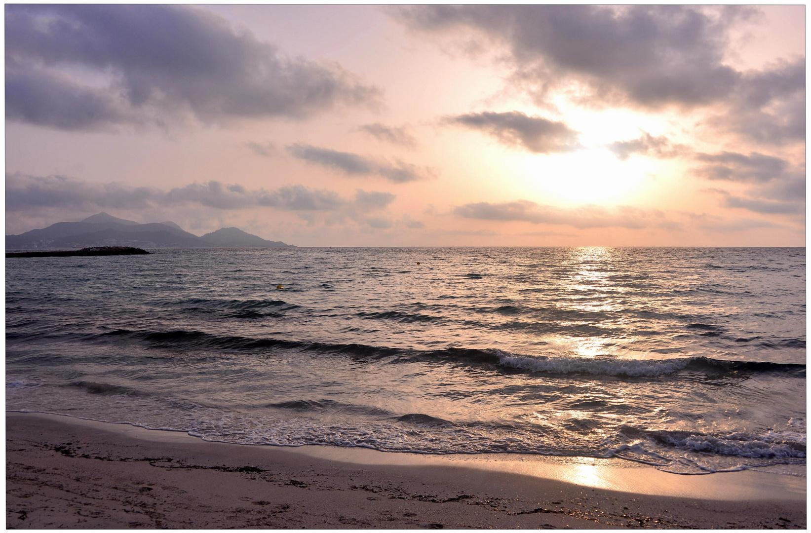 Mallorca 2012, Amanecer II (am Morgen II)