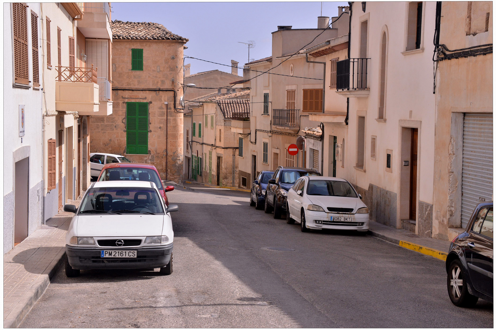 Mallorca 2012, calle en Santa Margalida