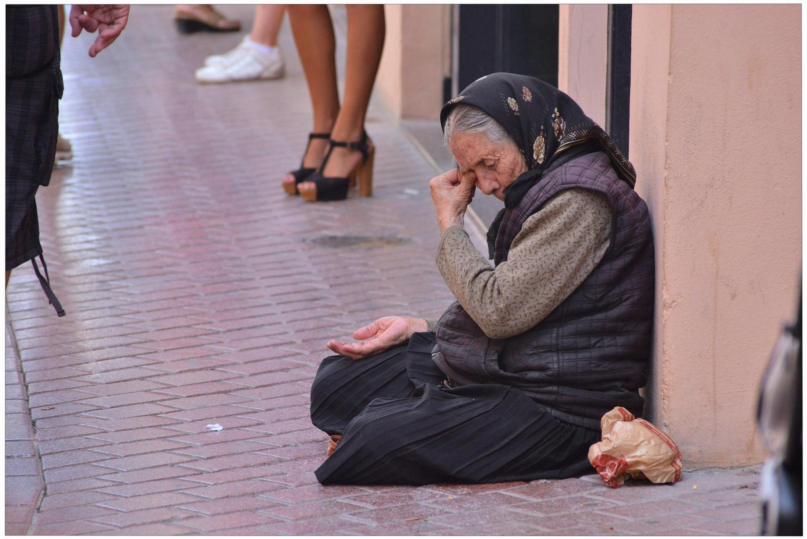 Mallorca 2012, Palma, por favor un donativo